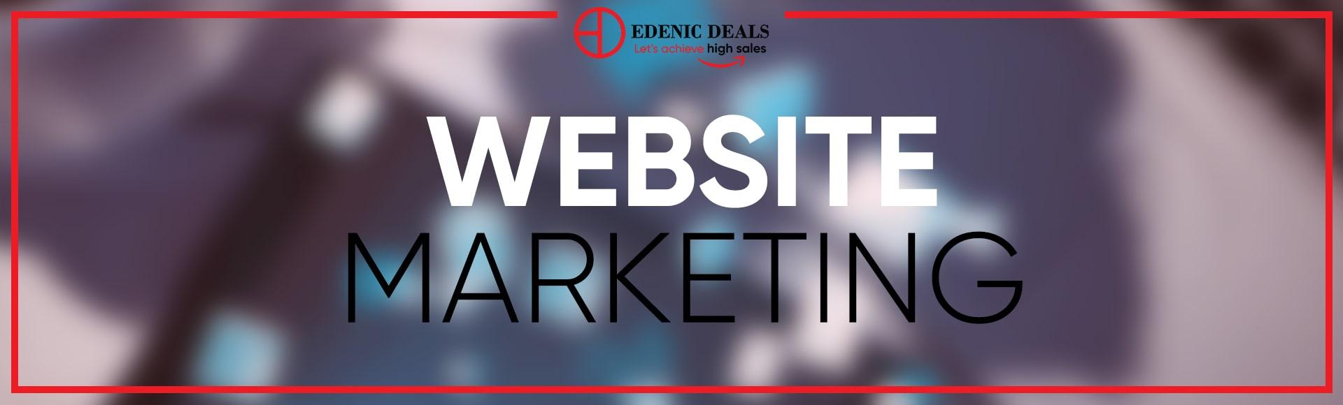 Edenic Deals Website Marketing